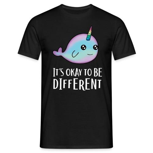 Ok to be Different - Männer T-Shirt
