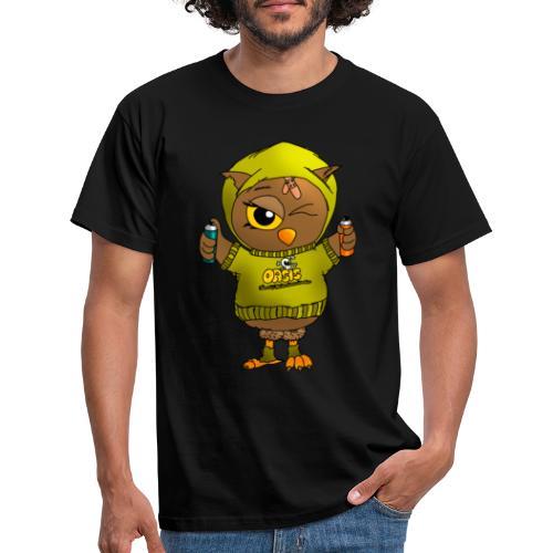 Eule KARL - Eulenclique - Männer T-Shirt