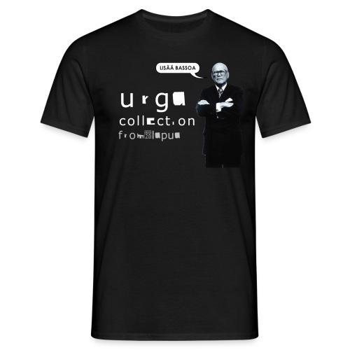 kekkonen lisaa bassoa urga 2 png - Men's T-Shirt
