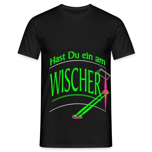 Hast Du ein am Wischer - Bus Truck wiper slang - Männer T-Shirt
