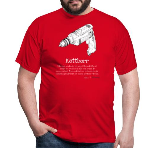 Köttborr - T-shirt herr