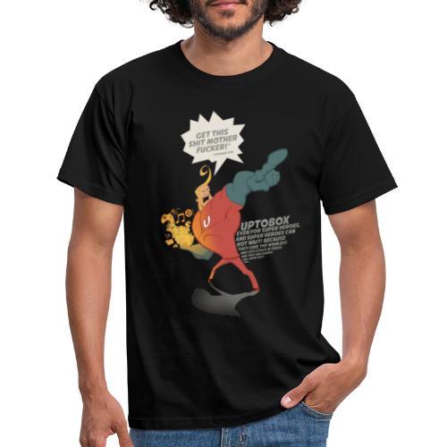 Uptobox Super Hero - T-shirt Homme