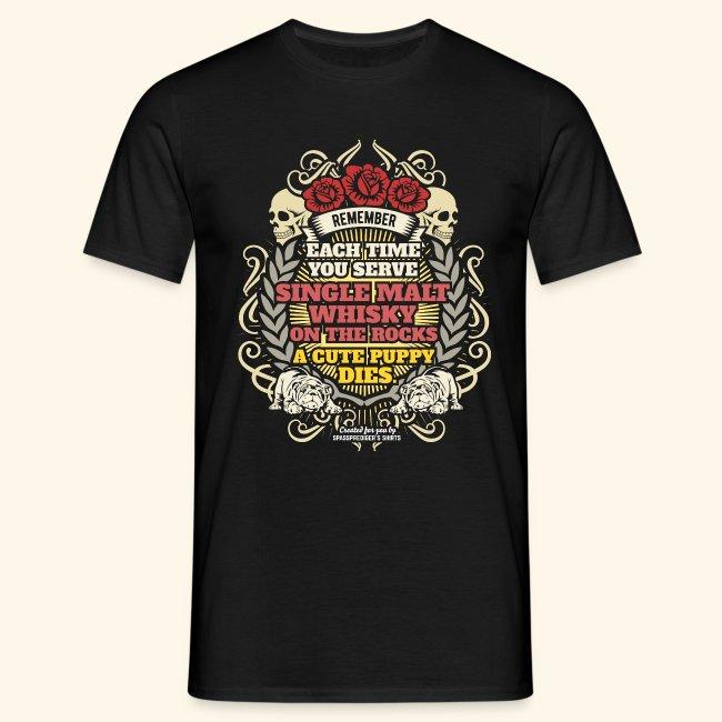 Whisky T Shirt Single Malt Whisky