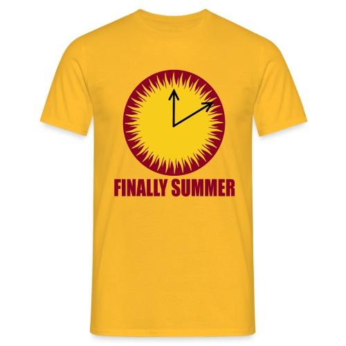 Finally Summer - Männer T-Shirt