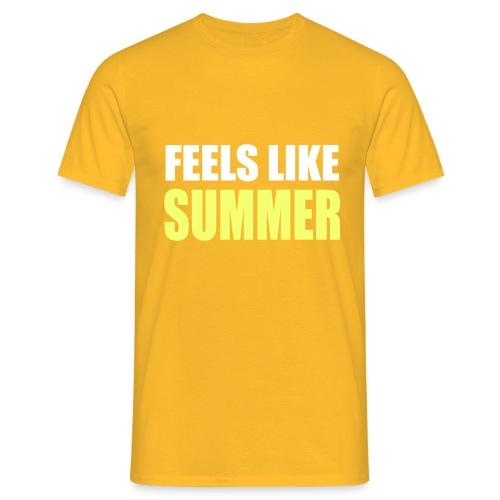FEELS LIKE SUMMER - Männer T-Shirt