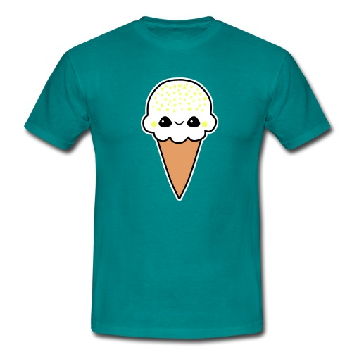 Happy Zitronen Eis - Männer T-Shirt