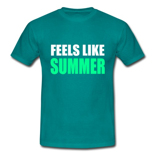 Feels like summer - Männer T-Shirt