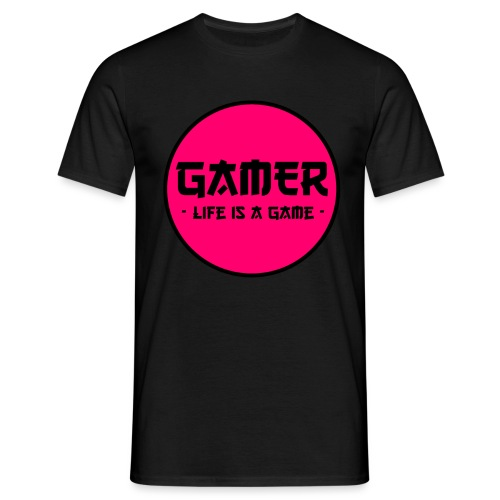 Gamer Life is a Game - Männer T-Shirt