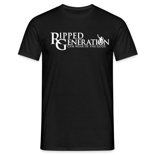 Ripped Generation Tekstilogo - Miesten t-paita
