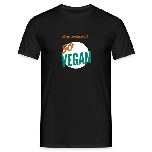 VeganforAnimals - Mannen T-shirt