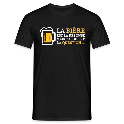 Question - T-shirt Homme
