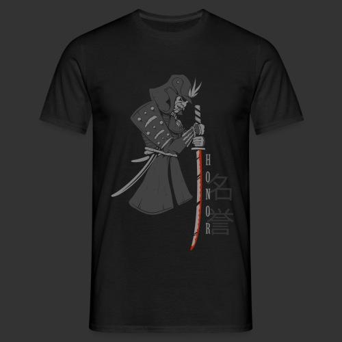 Samurai Digital Print - Men's T-Shirt