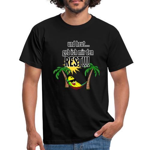 und heut... geb ich mir den Rest - Party Banane - Men's T-Shirt
