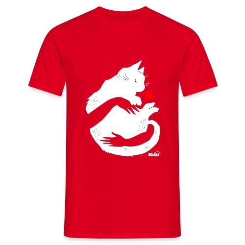 Halaus valkoinen - Miesten t-paita