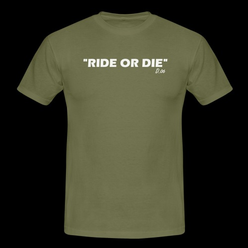 Ride or die (blanc) - T-shirt Homme