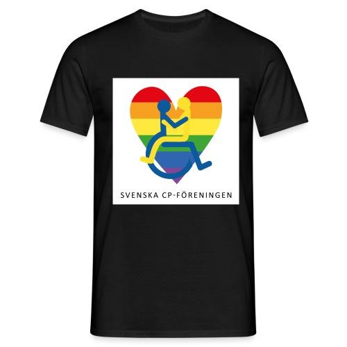 Regnbåge SvCP - T-shirt herr