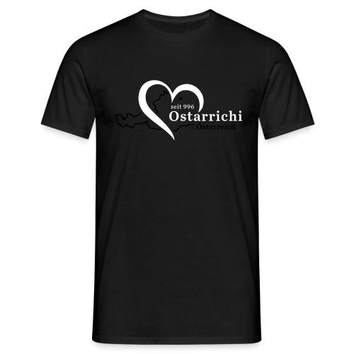 heartoftaustria - Männer T-Shirt