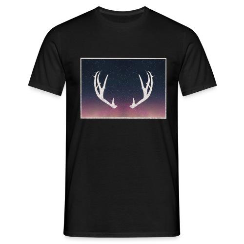 Poronsarvet taustalla - Miesten t-paita