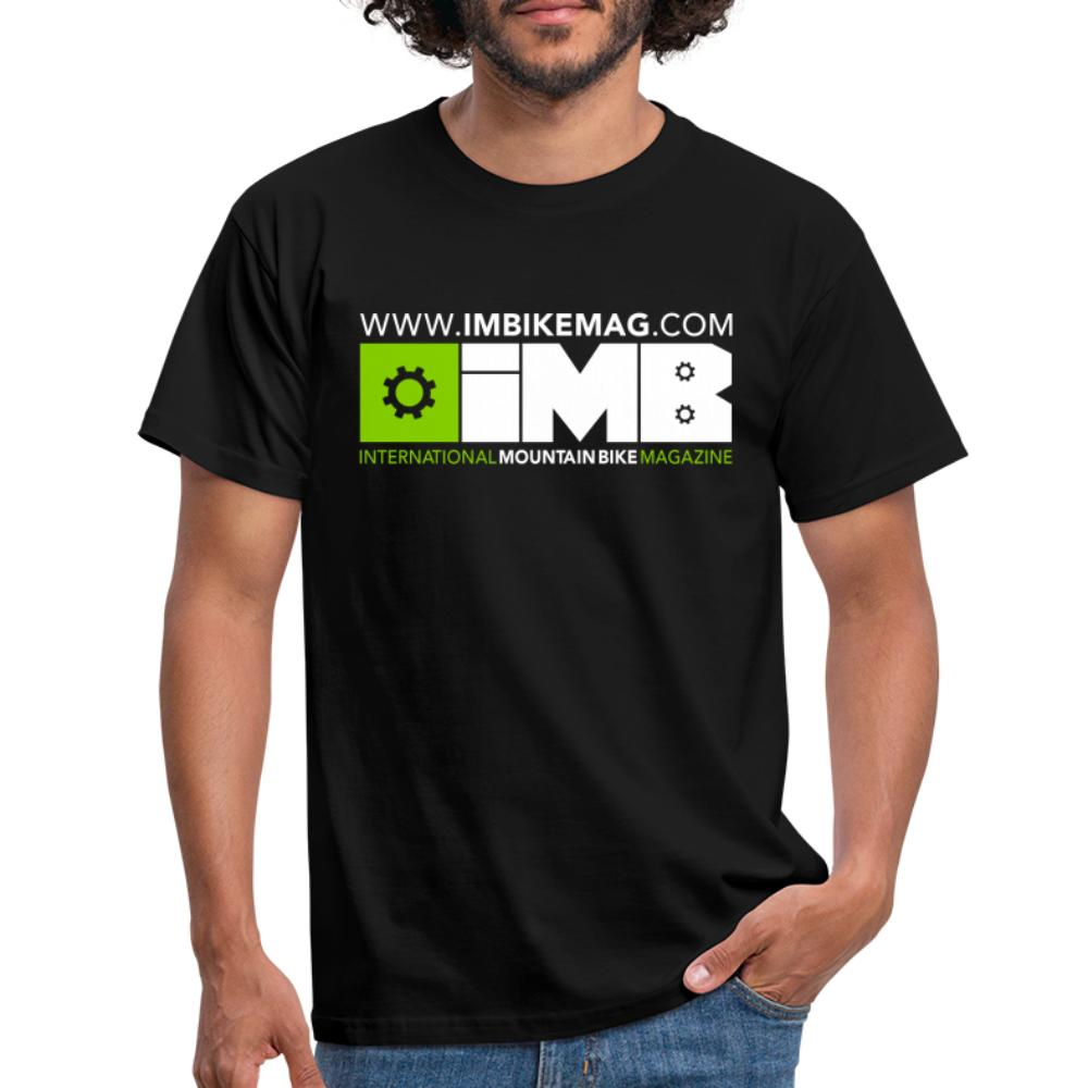 IMB Logo - Men's T-Shirt - black