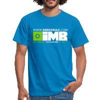 IMB Logo - Men's T-Shirt royal blue