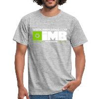 IMB Logo - Men's T-Shirt - heather grey