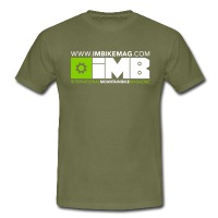 IMB Logo - Men's T-Shirt - khaki green