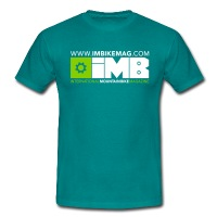 IMB Logo - Men's T-Shirt - diva blue