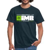 IMB Logo - Men's T-Shirt - navy
