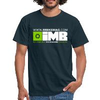IMB Logo - Men's T-Shirt navy