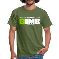 IMB Logo - Men's T-Shirt military green