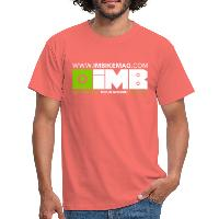 IMB Logo - Men's T-Shirt coral