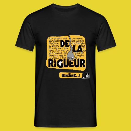 DE LA RIGUEUR 1 png - T-shirt Homme