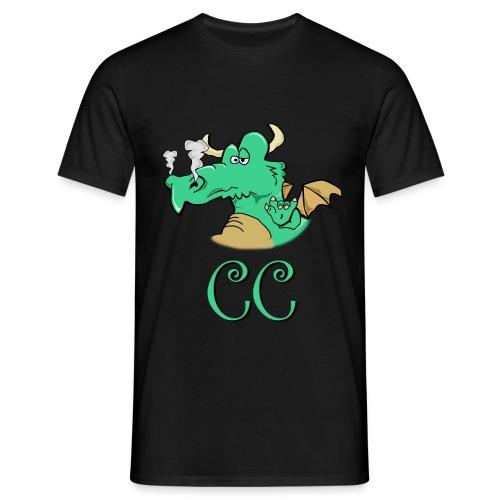 CC mit 2-Seiten - Männer T-Shirt