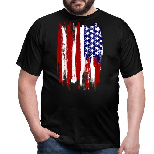 USA - T-shirt herr