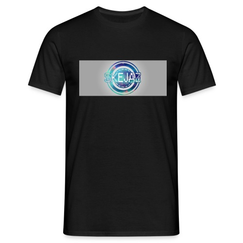 LOGO WITH BACKGROUND - Men's T-Shirt