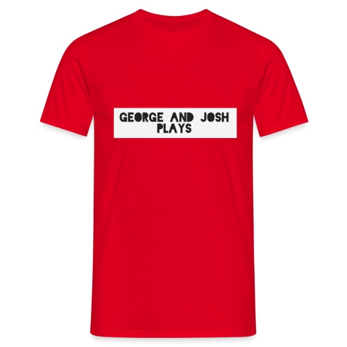 George-and-Josh-Plays-Merch - Men's T-Shirt