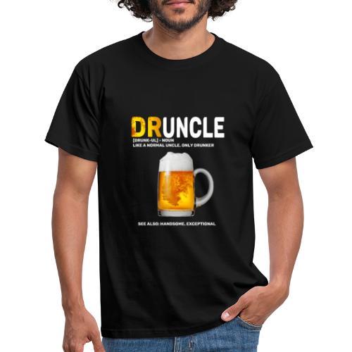 Druncle t-shirt - T-shirt Homme