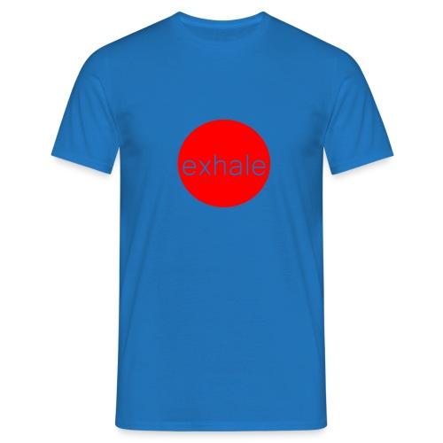 exhale - Men's T-Shirt