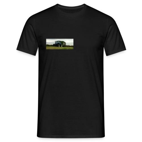 NewHolland Schlepper Trecker mit Ladewagen - Männer T-Shirt