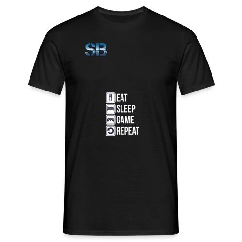 Eat Sleep Game Repeat - Herre-T-shirt