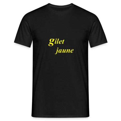 giletjaune - T-shirt Homme