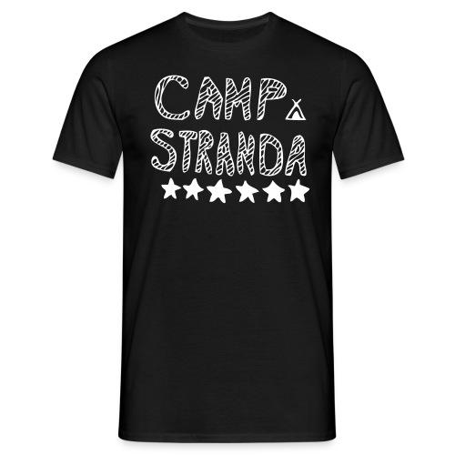 campstrandalogomedcampingmerke - T-skjorte for menn