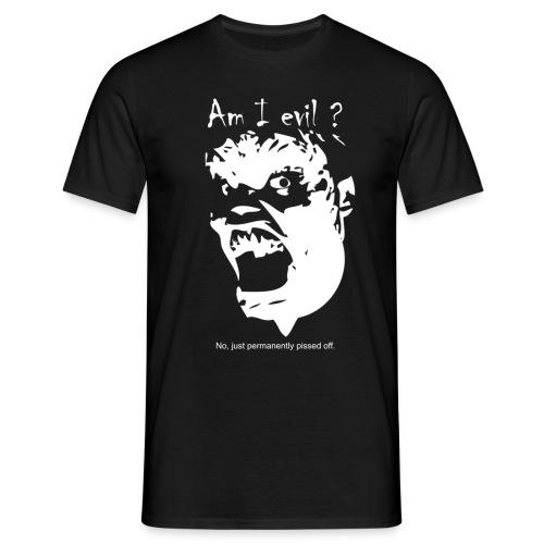 am i evil - Koszulka męska