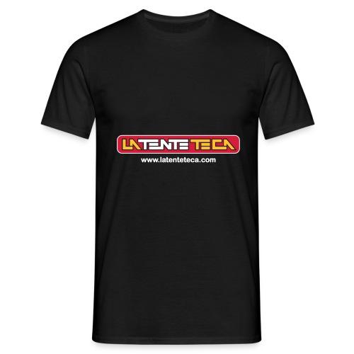 logo tenteteca textoweb - Camiseta hombre