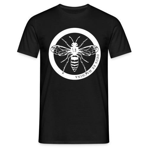waspcleanwhite1500x300dpi - Men's T-Shirt