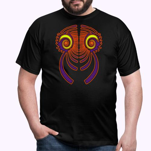 Fractal Dragon 3 color 2 - Men's T-Shirt