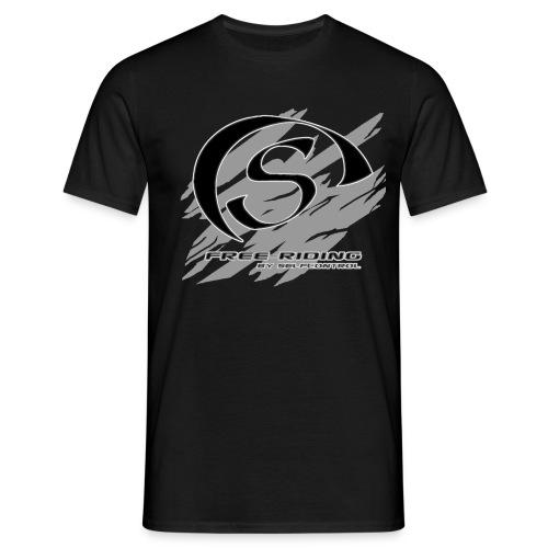 selfcontrol m grvita bakgrundsf clean1 k - T-shirt herr