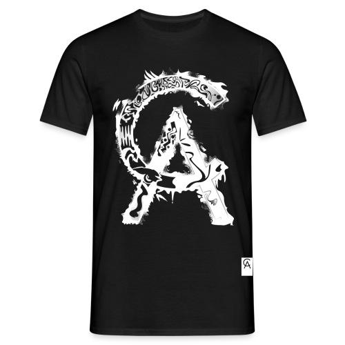 Creeper Art CA white - Männer T-Shirt