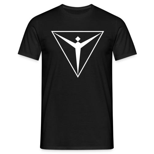 black mit - Männer T-Shirt