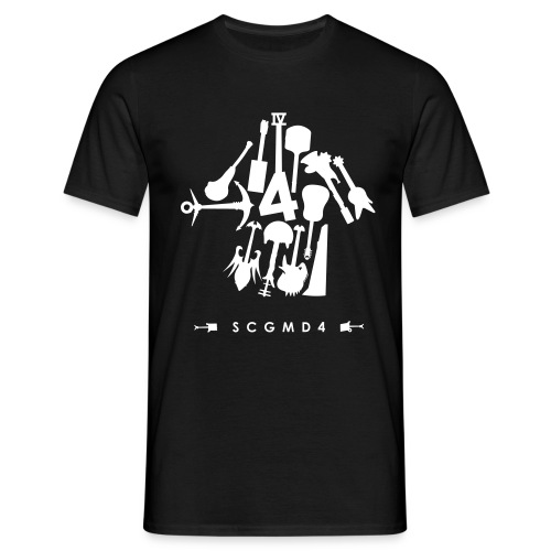 guitarrownu - Men's T-Shirt